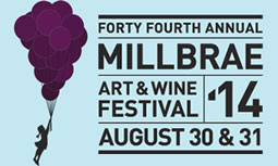 Millbrae Art & Wine Festival - The Last Blast of Summer, Labor Day Weekend on Broadway