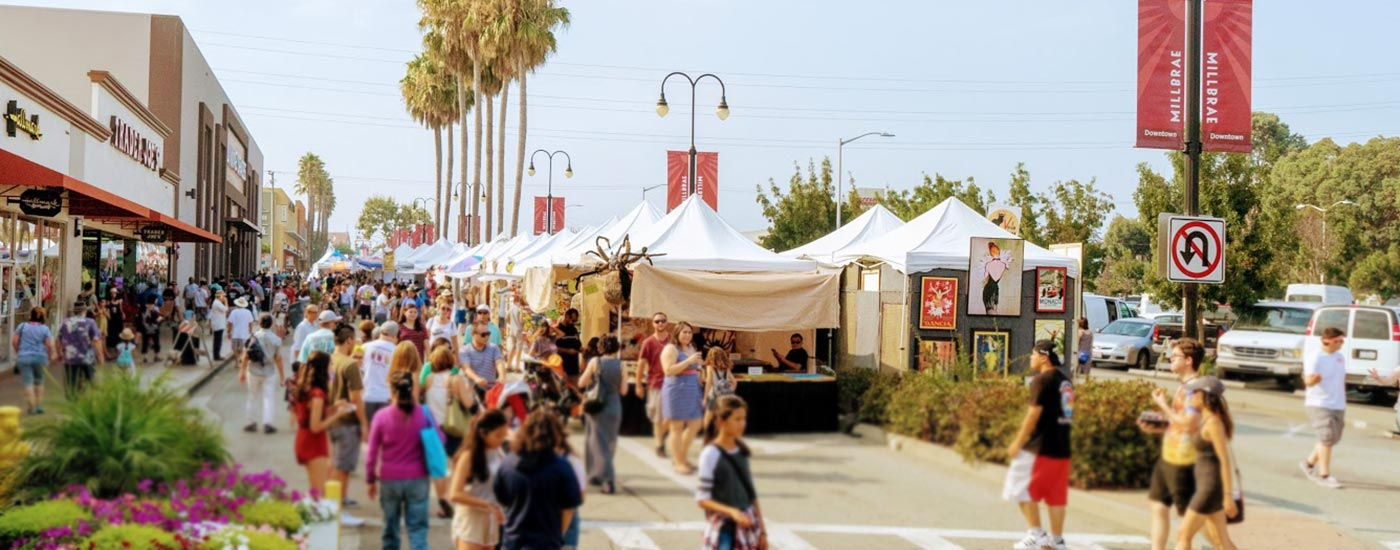 Millbrae Art & Wine Festival attracts thousands for the Bay Area's biggest Labor Day weekend event