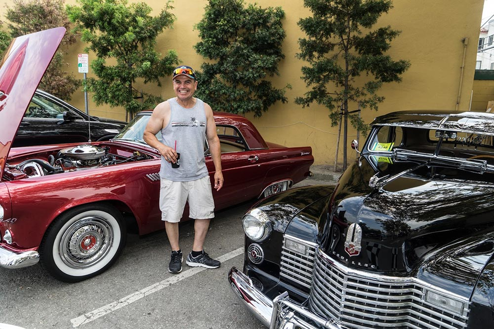 Classically Cool Car Show at annual Millbrae festival