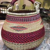 Jennie and Sulemana Awal - West African basket